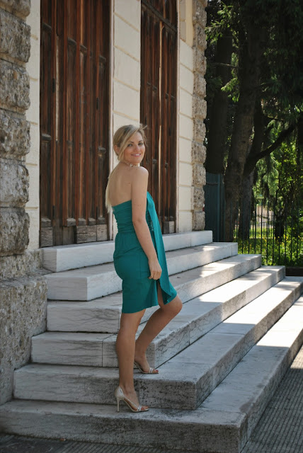 outfit abito verde abito elegante outfit estivi mariafelicia magno fashion blogger colorblock by felym fashion blog italiani blog di moda blogger italiane di moda ragazze bionde ootd outfit elegante estivo donna outfit maggio 2015 green dress summer outfit elegant summer outfit party outfit fashion bloggers italy blondie blonde hair blonde girls