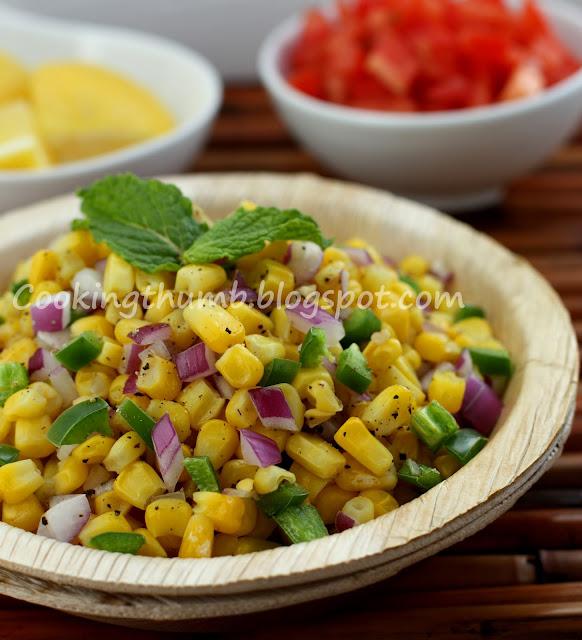 Corn Chaat, Corn Salad