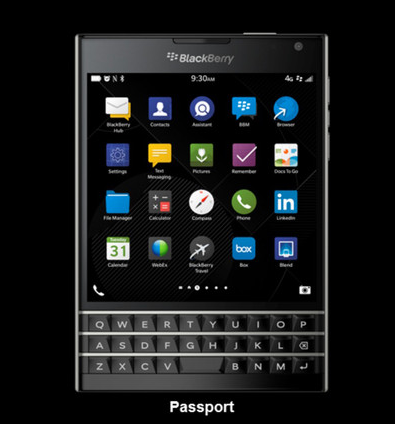 Review Spesifikasi Blackberry Passport