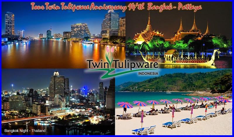 Tour Twin Tulipware 2014 @ Bangkok Pattaya Thailand 20 - 24 Mei 2014