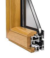 pvc doğrama kesiti, ahşap görünümlü pipapen pencere, ahşap kaplama