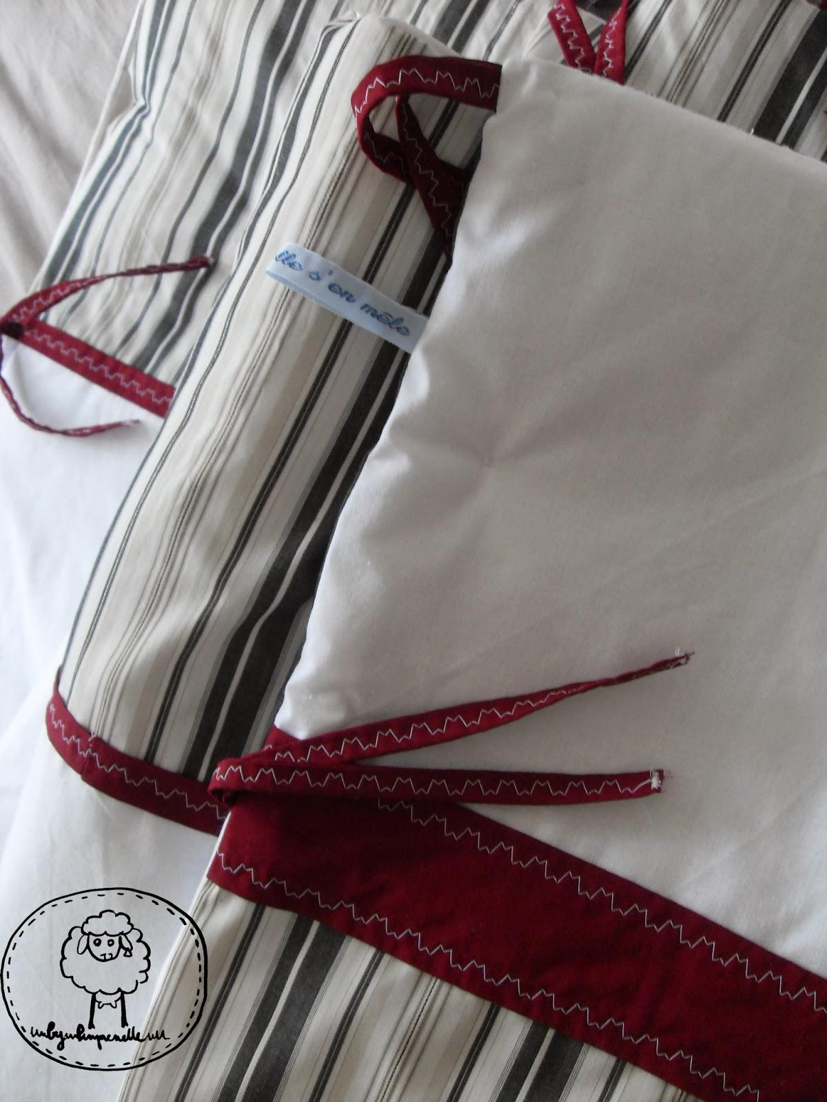 le blog de by pimprenelle tour de lit pour baptiste. Black Bedroom Furniture Sets. Home Design Ideas
