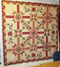 Vintage Rouge quilt