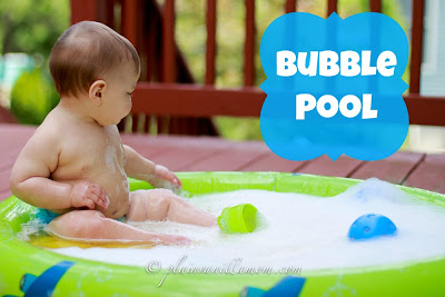 bubble pool play activity