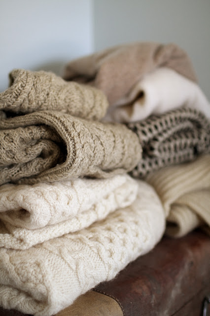 fall blankets chunky knit