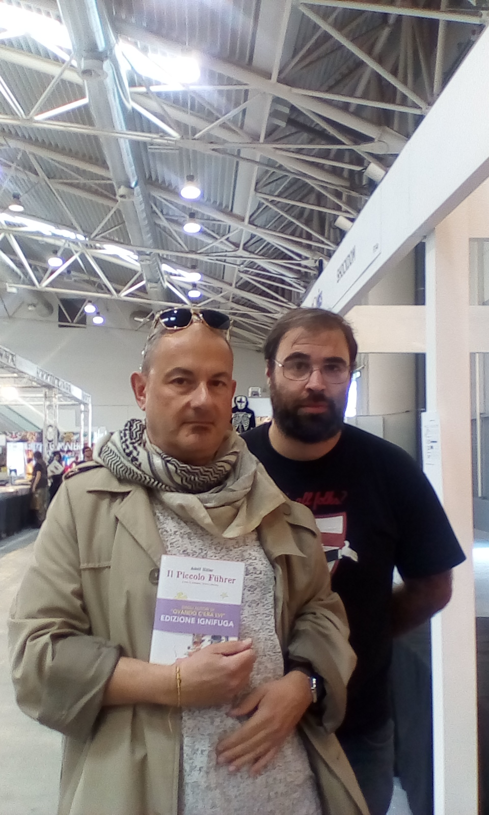 Courarelli in fiera de roma,romics comics festival 4/10/18