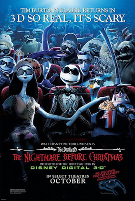 Watch The Nightmare Before Christmas 1993 BRRip Hollywood Movie Online | The Nightmare Before Christmas 1993 Hollywood Movie Poster