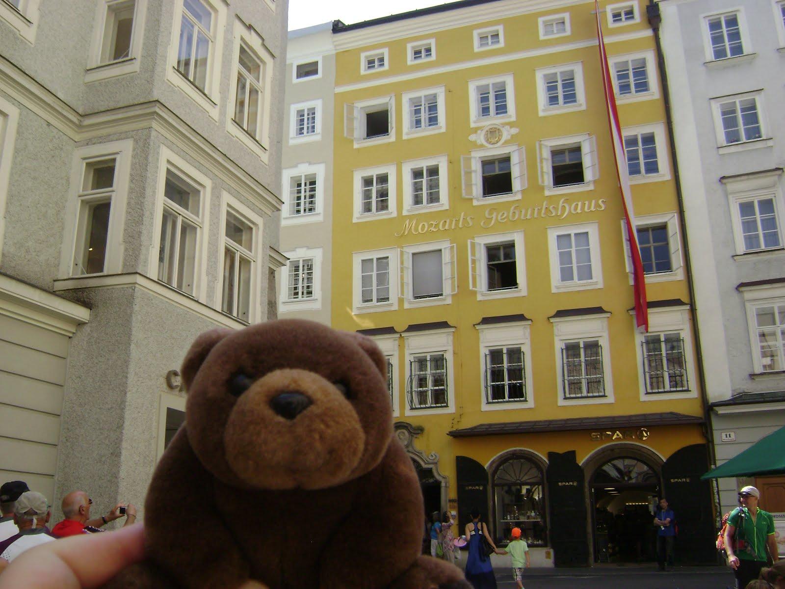 Teddy Bear in Salzburg, Austria