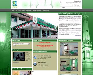 Promosi & Pemasaran Pelayanan Kesehatan Via Website RS Jogja | Joogja Circles