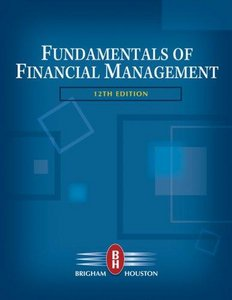 Solution manual fundamentals of financial management 12th edition by solution manualinstructor manual book title fundamentals of financial management 12th edition fandeluxe Images