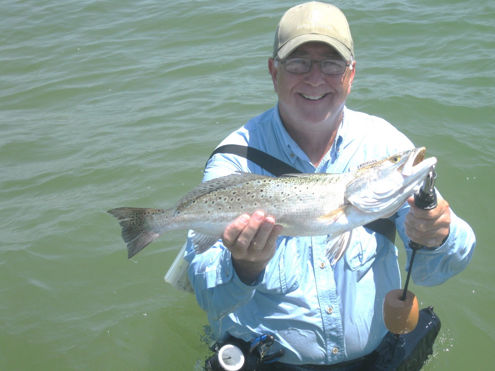 Ron 39 s rockport fishing reports artifical baits in the surf for Rockport texas fishing report