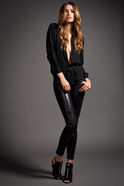 Excellent How To Wear Leather Pants For Women  Fashion Trend For This Season