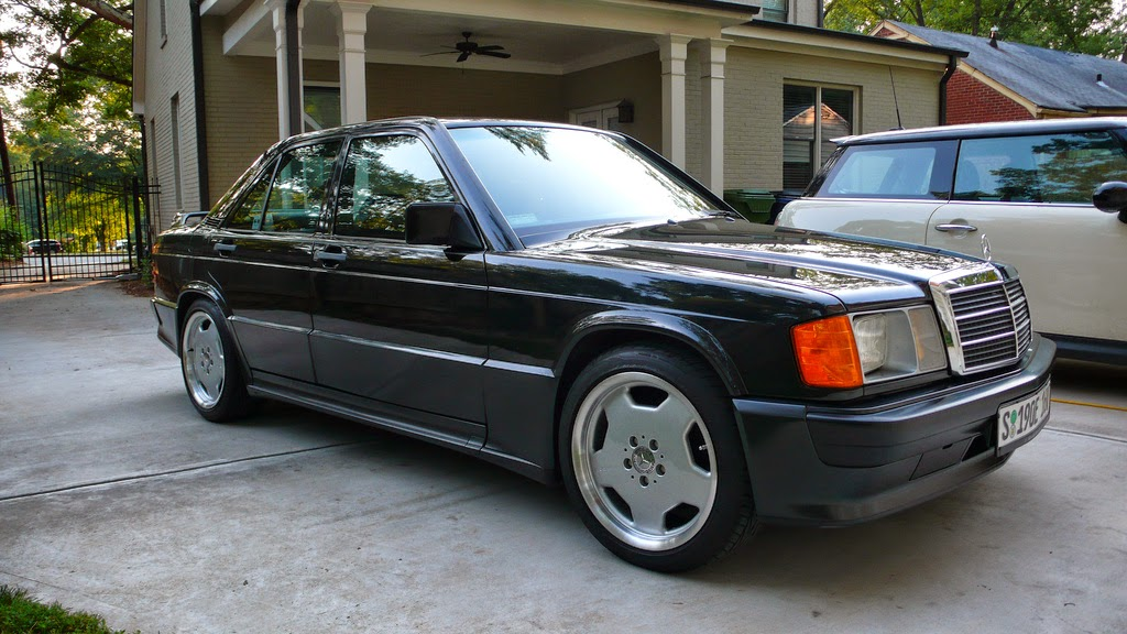 mercedes benz 190e 2 3 16 on amg monoblock 39 s benztuning. Black Bedroom Furniture Sets. Home Design Ideas