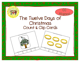 https://www.teacherspayteachers.com/Product/Twelve-Days-of-Christmas-Count-Clip-Cards-1518012