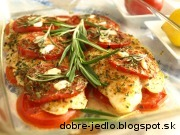 Pangasius s rozmarínom - recept