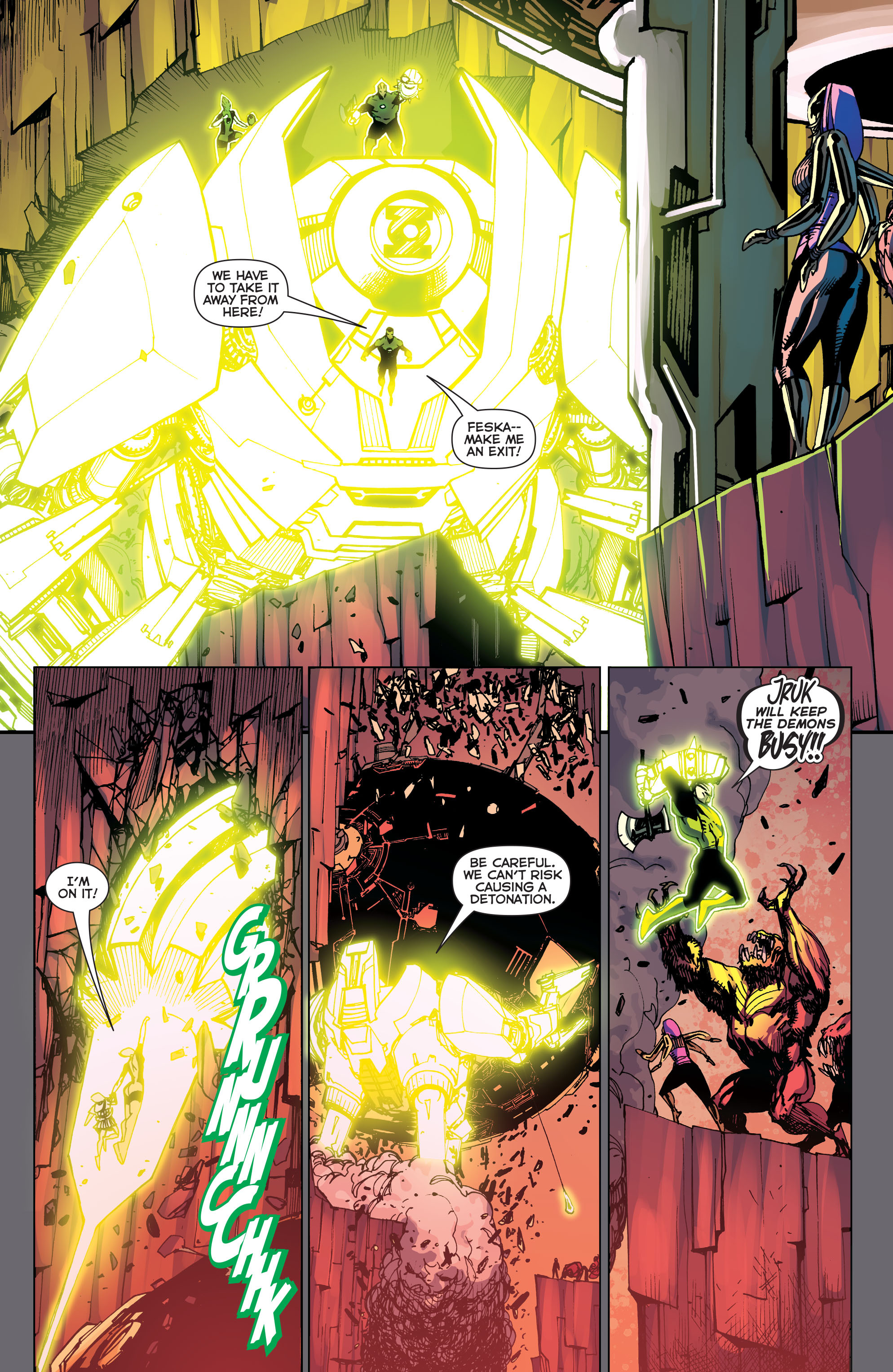 Green Lantern Corps (2011) Issue #40 #43 - English 6