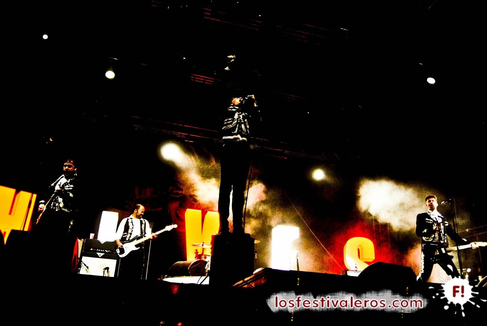 The Hives, Come On, Concierto, Festival, Directo, Live, Glastonbury