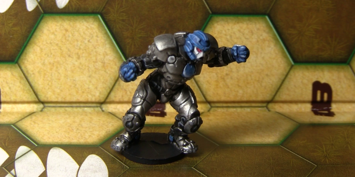 Tutorial: How To Paint A Dreadball Corporation Guard