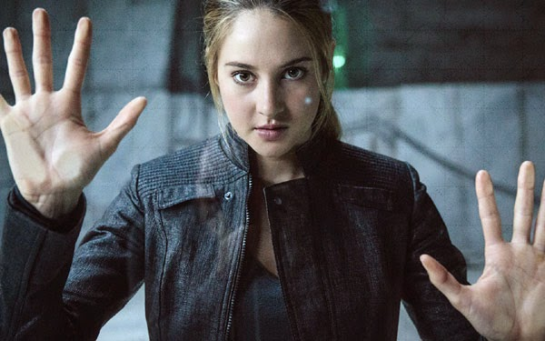 Divergent, directed by Neil Burger and starring Shailene Woodley