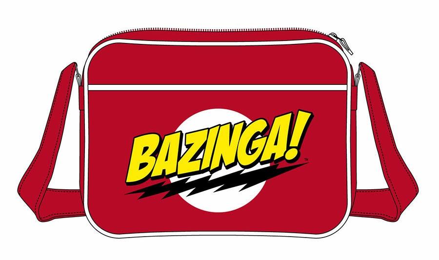 Bolsa Bandolera Bazinga Big Bang Theory