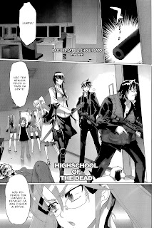 Highschool of the dead 28 Mangá Português leitura Online Agaleradosanimes.net
