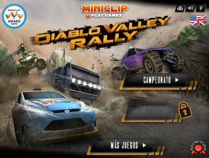 Juegos gratis de carros - Diablo Valley Rally