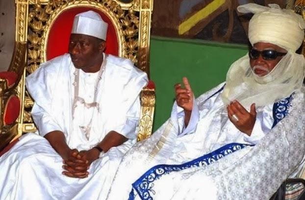 president jonathan emir of kano