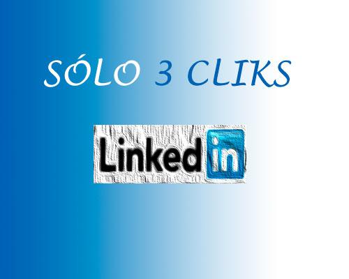 3 cliks para hacer linkedin seguro