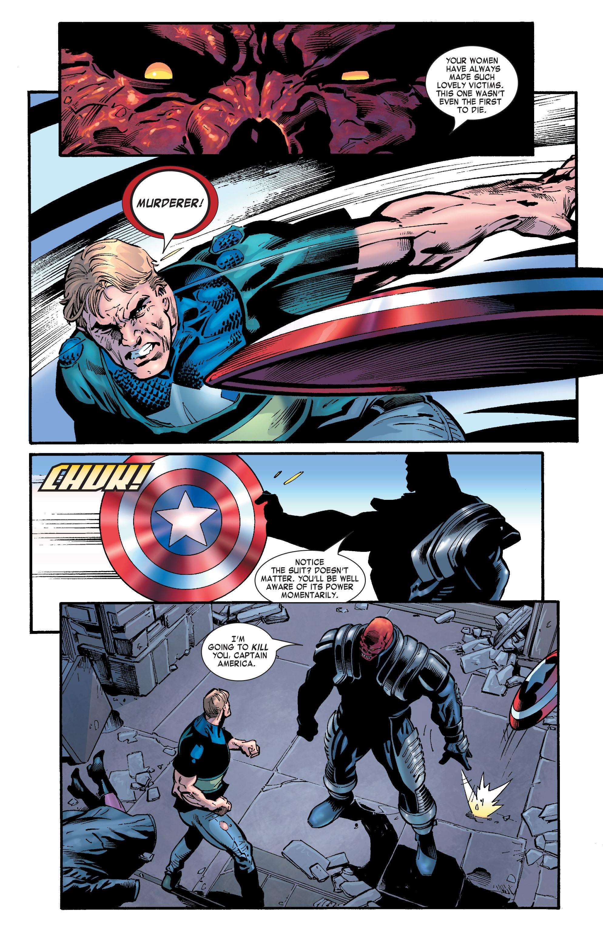 Captain America (2002) Issue #32 #33 - English 8