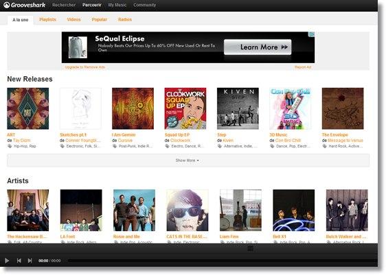 12 services pour couter de la musique en ligne. Black Bedroom Furniture Sets. Home Design Ideas