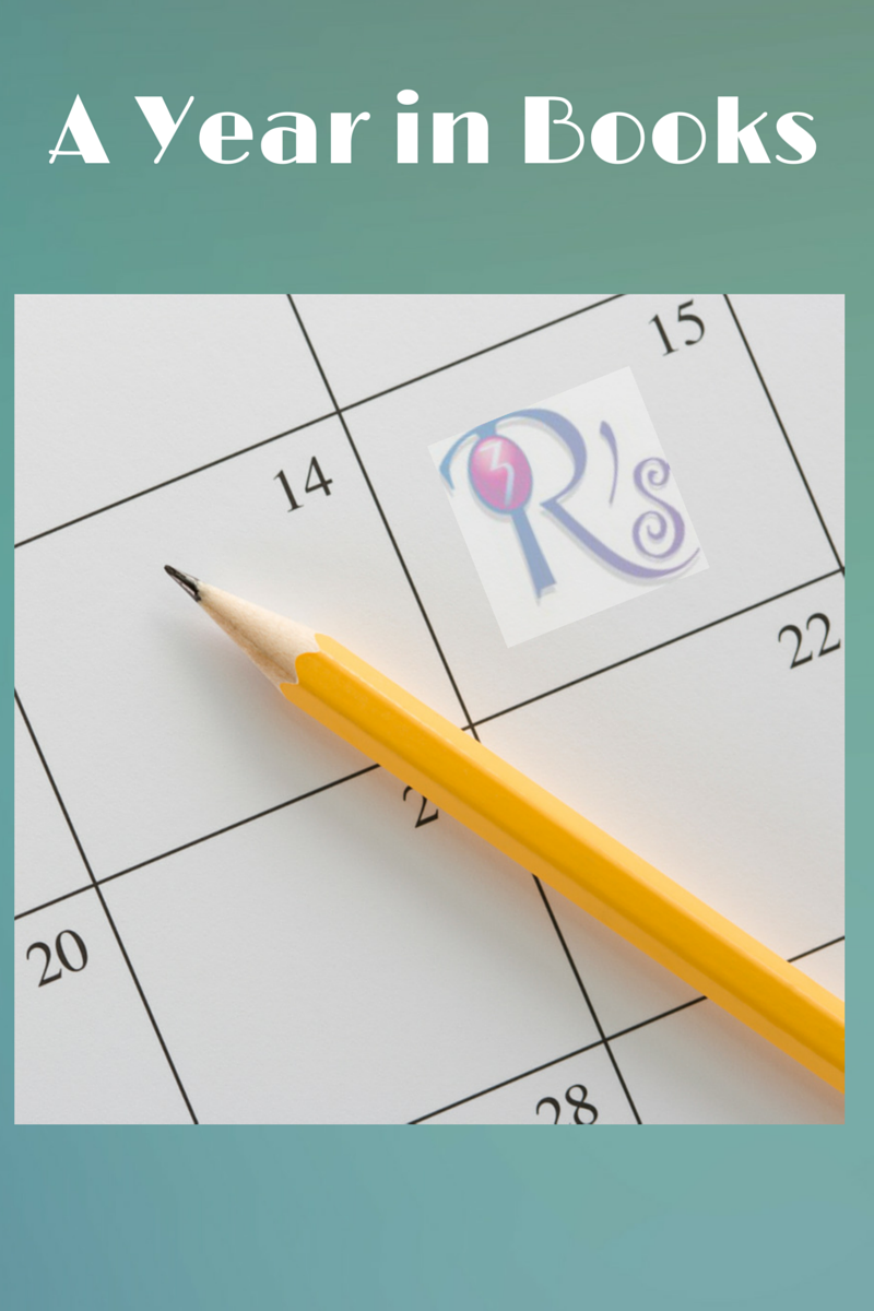 A Year in Books for A Month of Favorites at The 3 Rs Blog