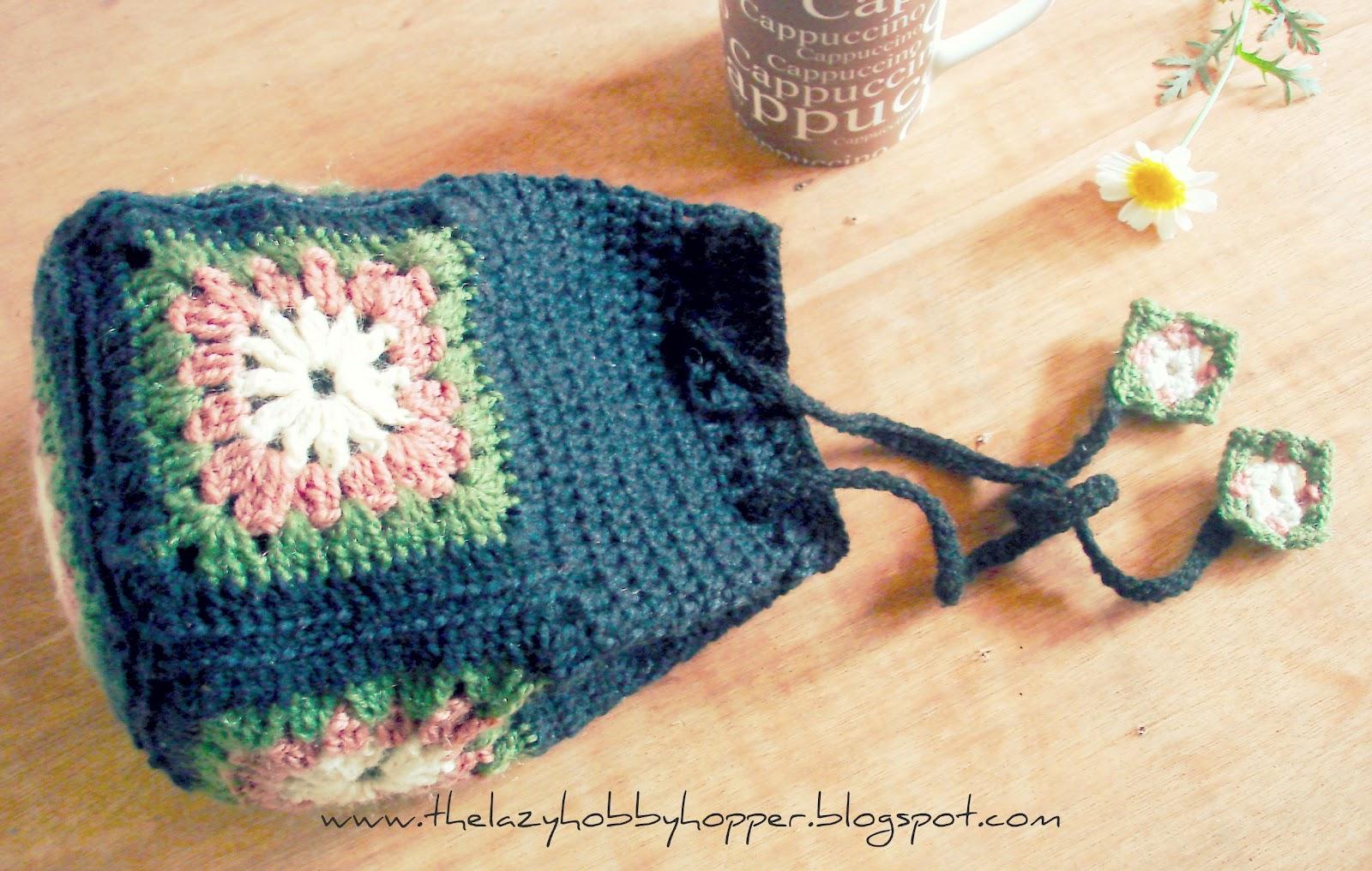 Roznamcha -Karguzari: The Lazy Hobbyhopper: Granny drawstring bag