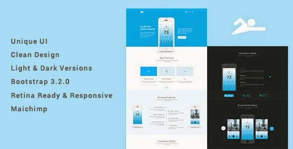 Pat - An App Landing Page Template