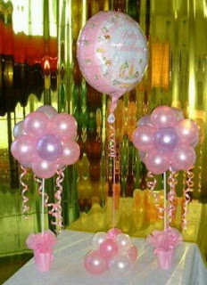 Girls Christening Decoration