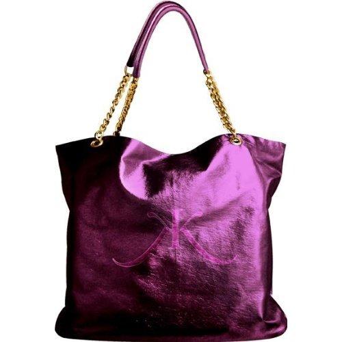 limited edition Kim Kardashian Tote Bag purple