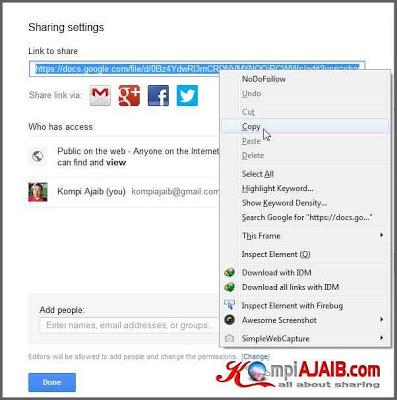 Cara Upload File, HTML, CSS, Javascript Di Google Drive 5