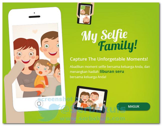 Kontes Foto Selfie Berhadiah Liburan Ke Bali Bersama Keluarga