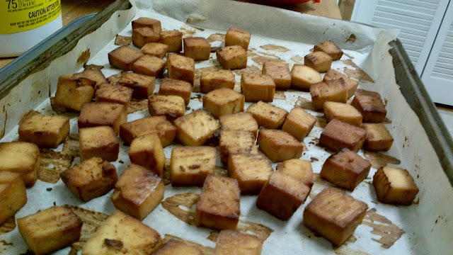 Seasoned Baked Tofu