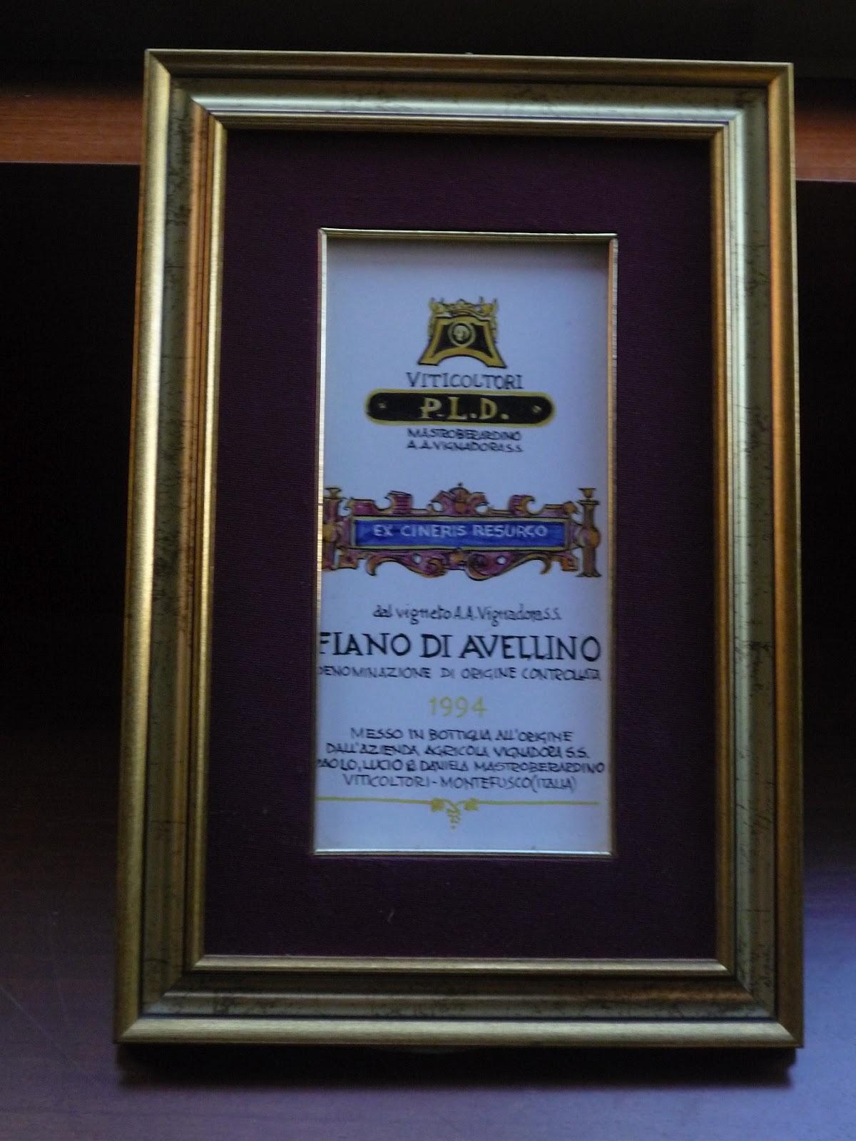 Il mercatino di casa tiraboschi quadro vino fiano di avellino for Mobili 2000 avellino