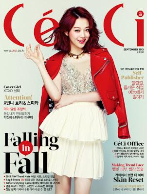 Sulli f(x) Ceci Magazine September Issue 2013