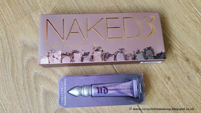 Urban Decay, Naked 3 palette, primer potion,