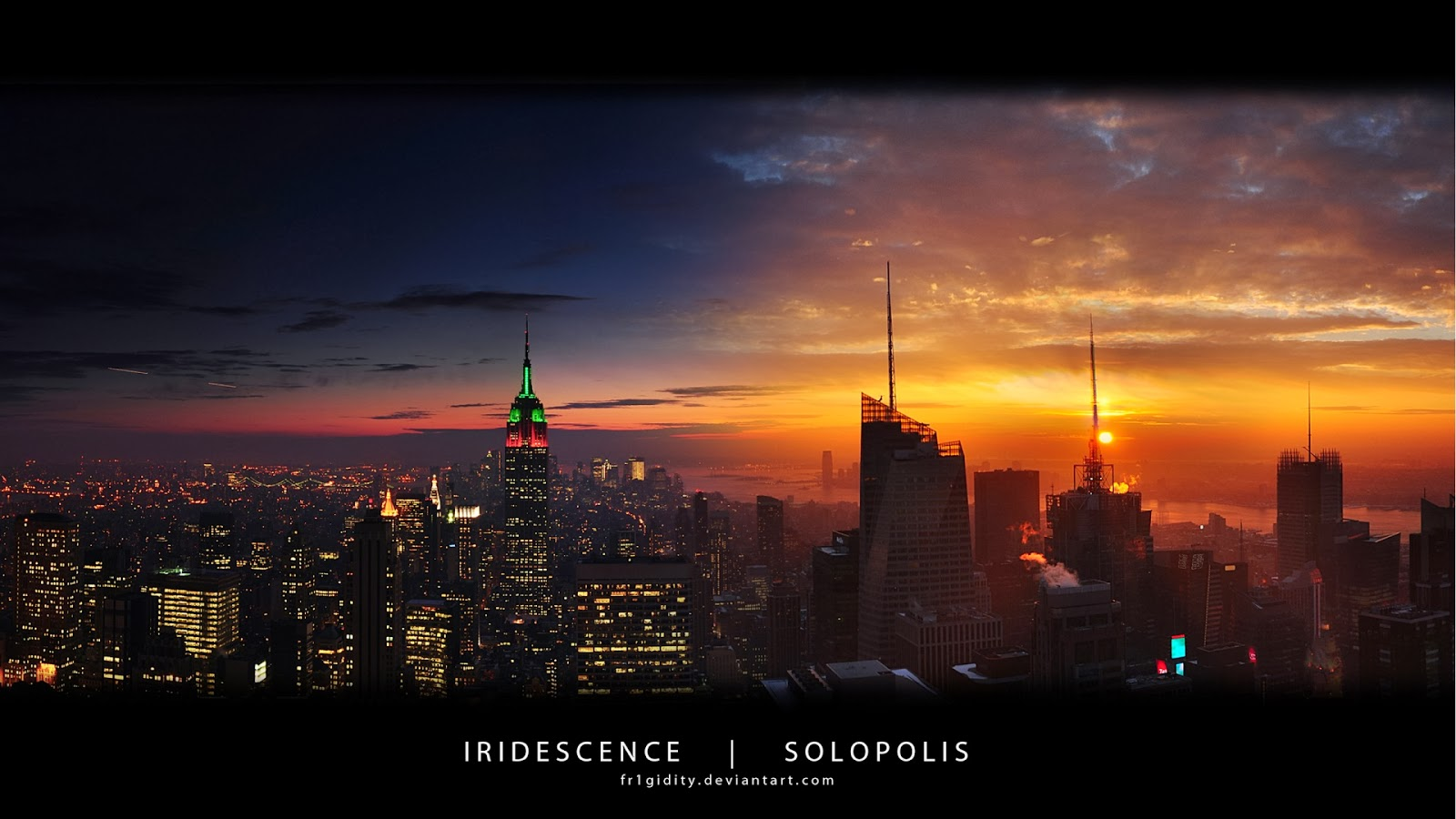 New york empire state panorama 1920x1080 amazing 3d hd for New york 3d wallpaper