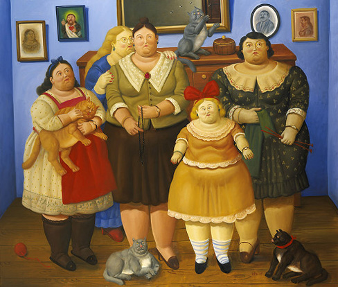 """CoseBelle: Botero, il piacere visivo di opere """"obese"""""""