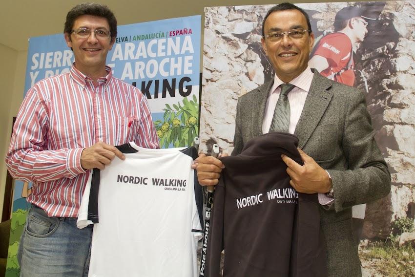 Entra en funcionamiento el 'Centro Serrachuela' para la formación del Nordic Walking