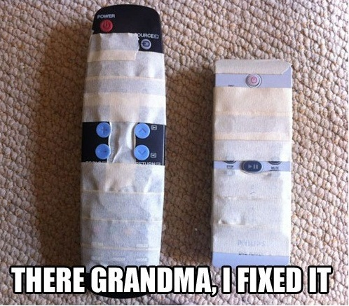 Help Your Grandma With Remote
