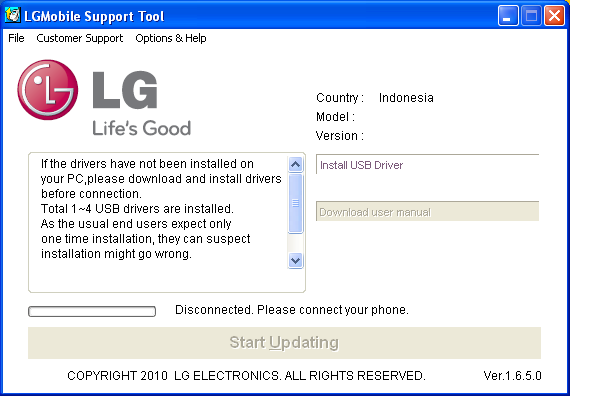 Cara Update LG P970 ke Official ICS Firmware Indonesia ...