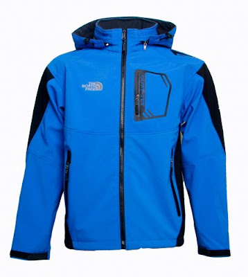 The North Face Triclimate Goretex Jackets Men Blue
