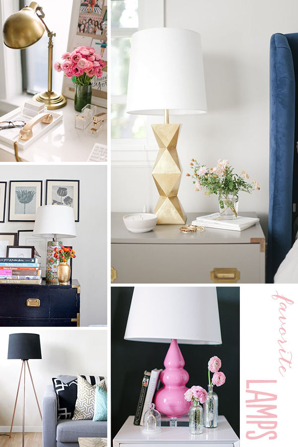 Light It Up: Favorite Lamps