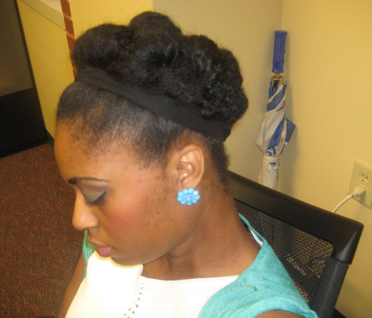 protective styles for short natural hair