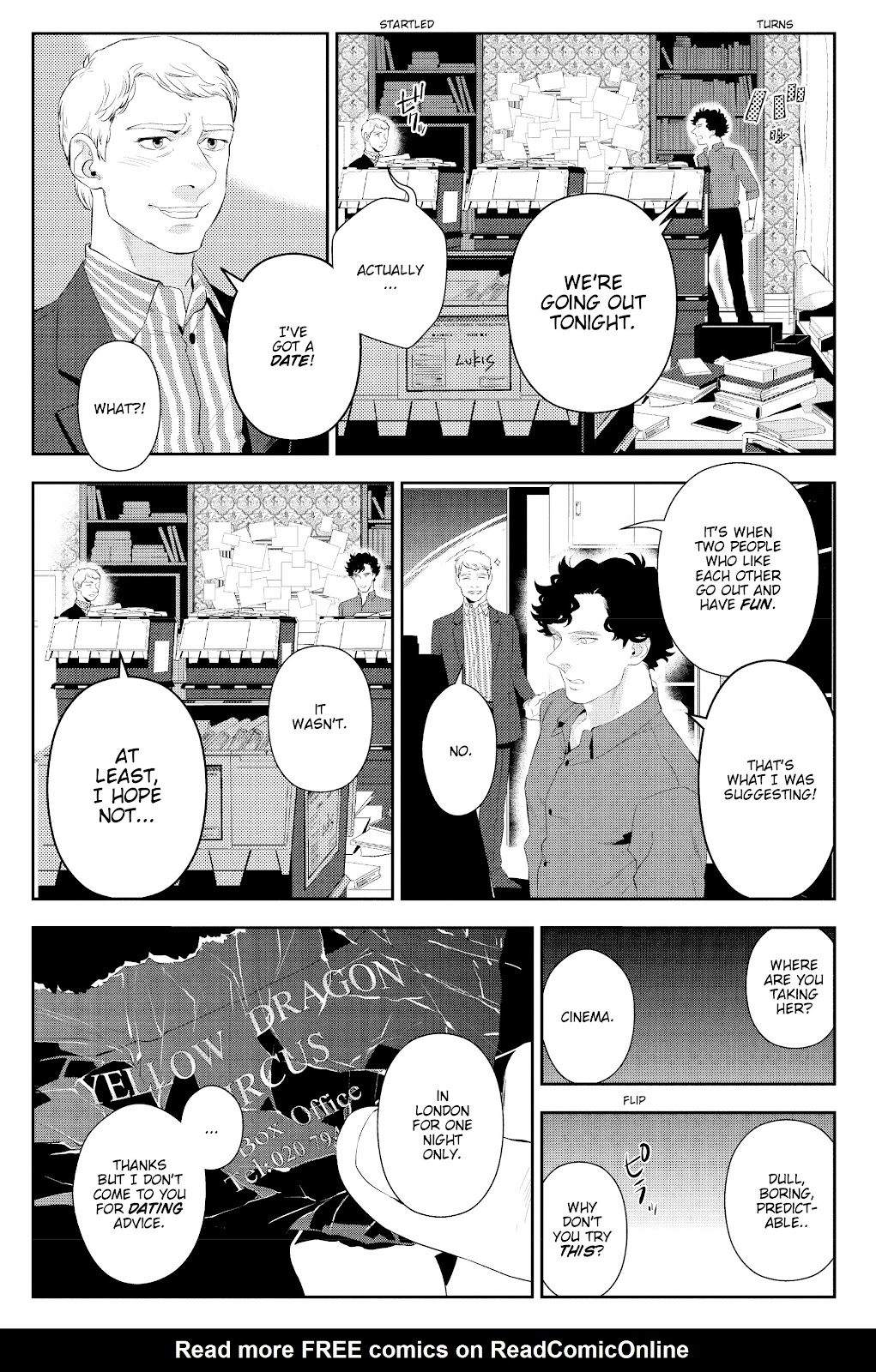 Sherlock: The Blind Banker Issue #5 #5 - English 14